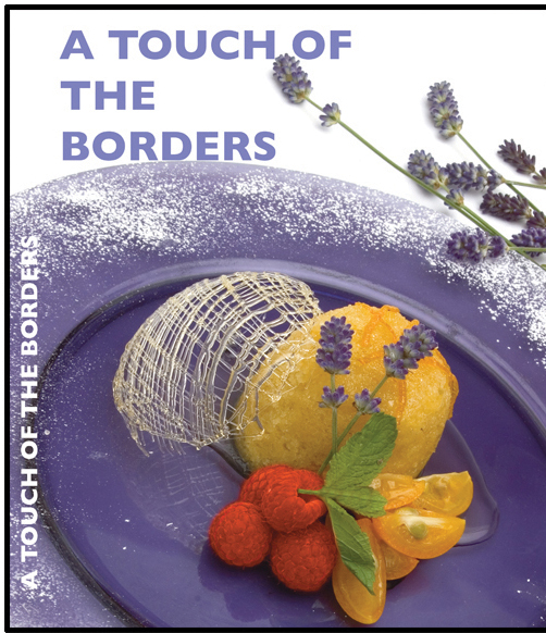 A Touch of the Borders' cookbook