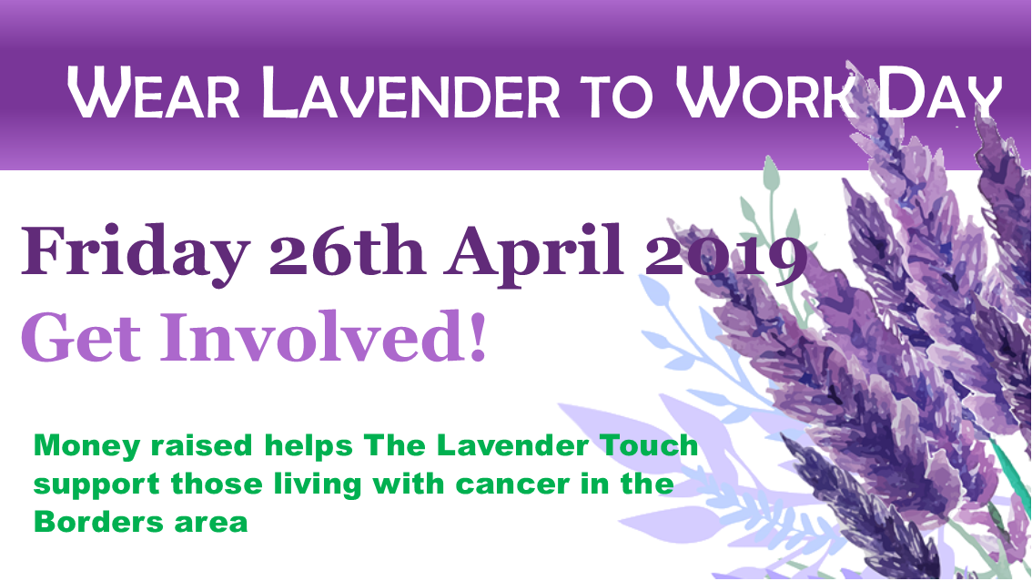 Wear Lavender to Work Poster